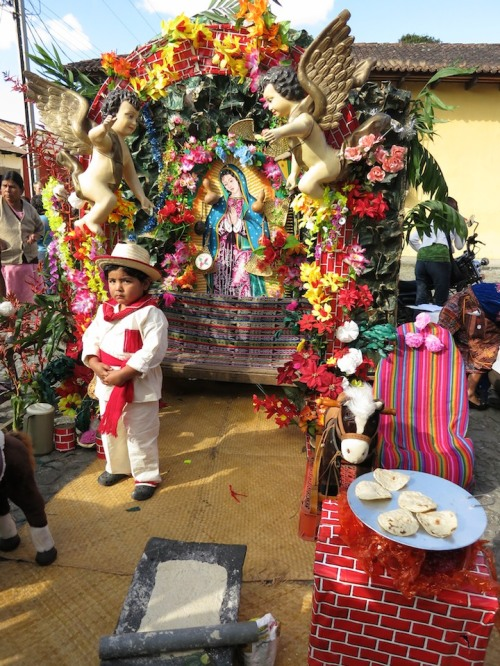 Altar to the Virgen de Guadalupe