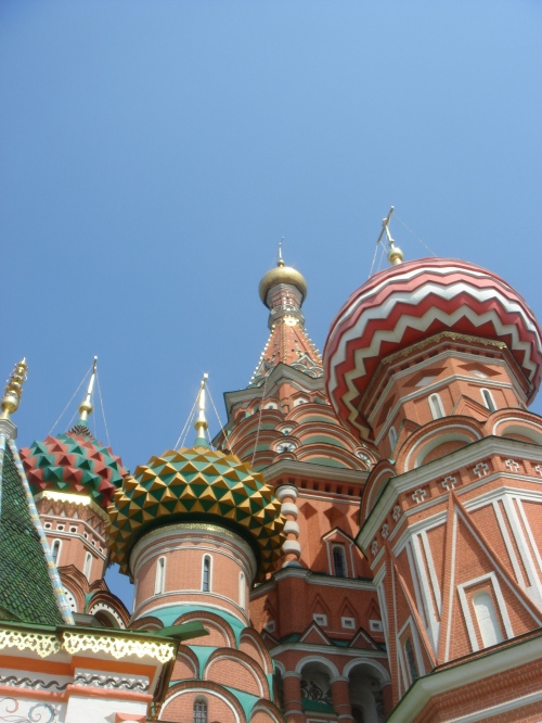 St.-Basil's Cathredral from one scrumptious angle