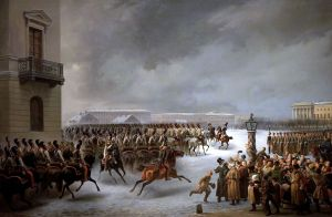 Decembrists' Uprising- St.-Petersburg, December 14, 1825