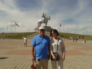 Enkhsetseg and Enkhbayar