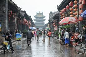 Umbrellas in Ping Yao